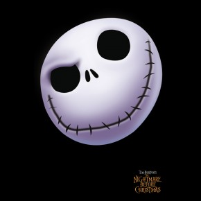 Nightmare Before Christmas Jack Face Poster