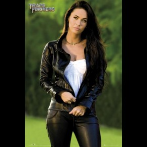 Megan Fox Transformers (Leather) Poster