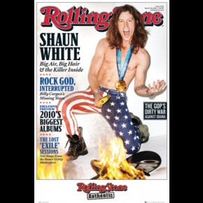 Shaun White Rolling Stone Poster