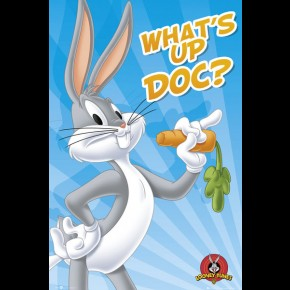 Looney Tunes Bugs Bunny Poster