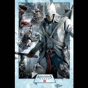 Assassins Creed III Montage Poster