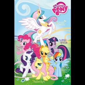 My Little Pony Characters Poster