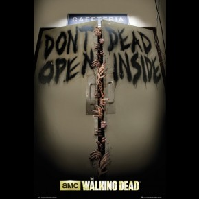 Walking Dead (Keep Out) Poster