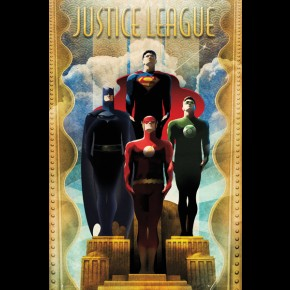 Justice League (DC Deco) Poster