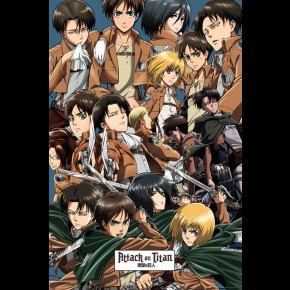 Attack On Titan (Collage) Poster