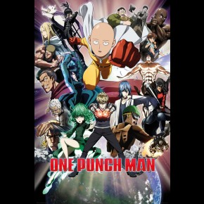 One Punch Man (Collage) Poster
