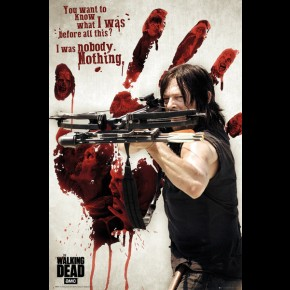 Walking Dead (Daryl Bloody Hand) Poster