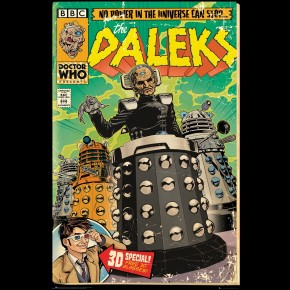 Doctor Who (Daleks Davros Comic) Poster