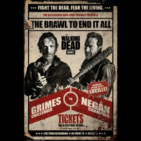 Walking Dead (Fight) Poster