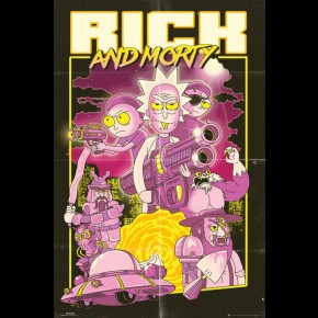 Rick and Morty (Action Movie) Poster
