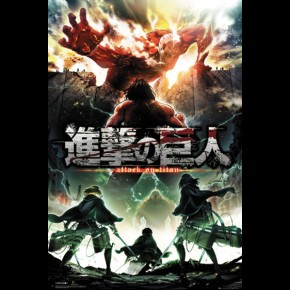 Attack On Titan (Season 2 Key Art) Poster