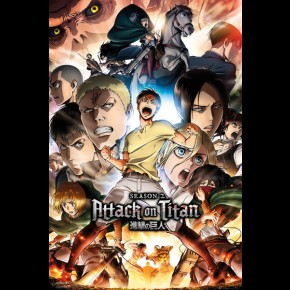 Attack On Titan (Season 2 Collage Key Art) Poster