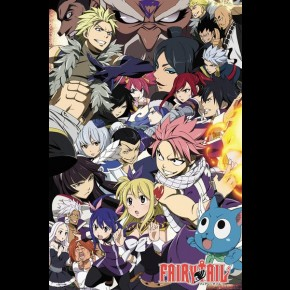Fairy Tail (Season 6 Key Art) Poster