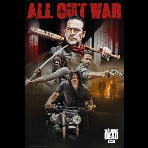 Walking Dead (All Out War) Poster