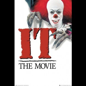 IT The Movie (1990 Key Art) Poster