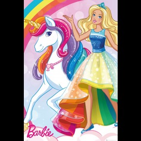 Barbie (Unicorn) Poster