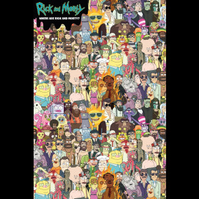 Rick and Morty (Where?) Poster
