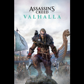 Assassins Creed Valhalla (Cover) Poster