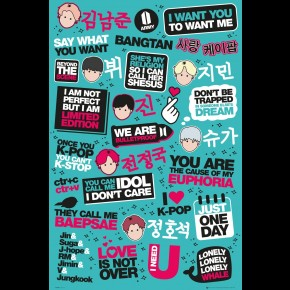 K-Pop (Quotes) Poster