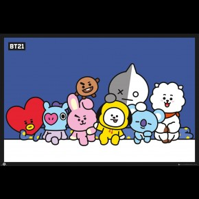 BT21 (Group) Poster