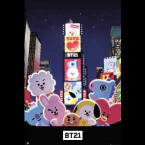 BT21 (Times Square) Poster