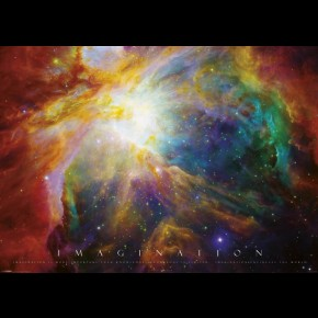 Imagination Nebula Giant Poster