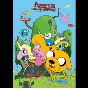 Adventure Time (House) Giant Poster