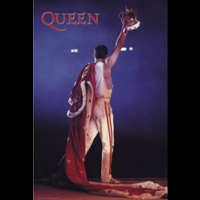 Queen Freddie Mercury Crown Poster