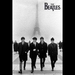 Beatles Paris Poster