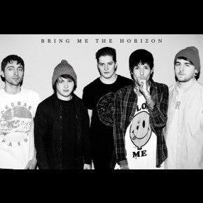 Bring Me The Horizon (b/w) Poster