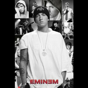 Eminem Collage Poster