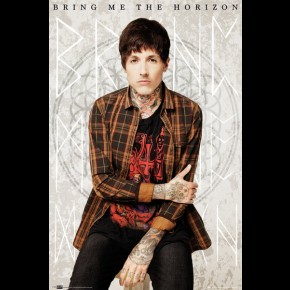 Bring Me The Horizon Oli Poster