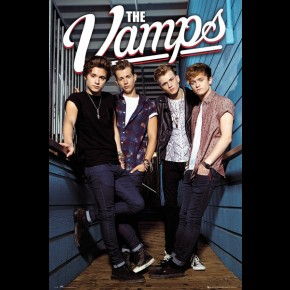 Vamps (The) Band Poster