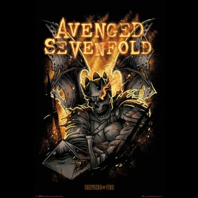 Avenged Sevenfold (Shepherd Of Fire) Poster
