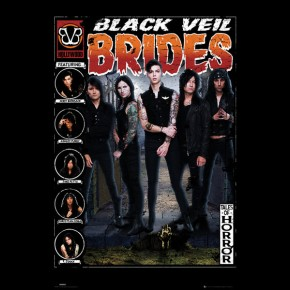 Black Veil Brides (Tales Of Horror) Poster