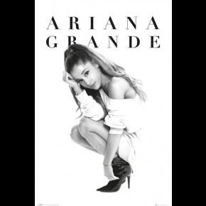 Ariana Grande (Crouch) Poster