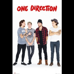 One Direction (4-Piece Red) Poster