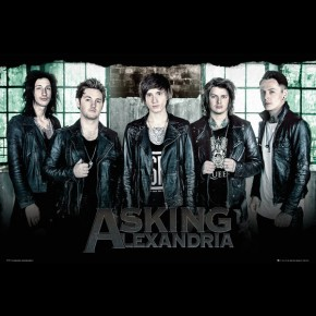 Asking Alexandria (Window) Poster