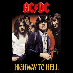 AC/DC (Highway To Hell) Poster
