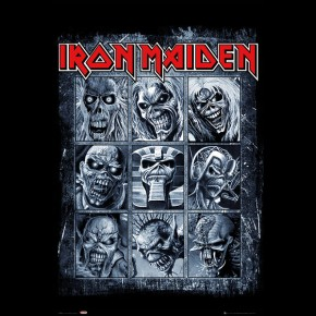 Iron Maiden (Eddies) Poster