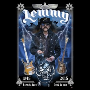 Motorhead Lemmy (Born To Lose) Poster