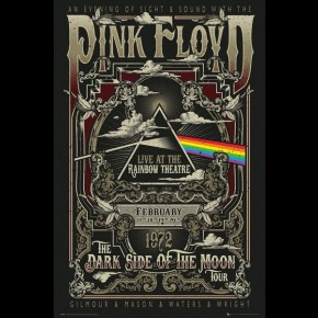 Pink Floyd (Rainbow Theatre) Poster