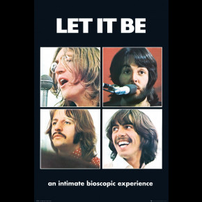 The Beatles (Let It Be - Bioscopic) Poster
