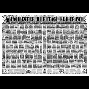 Manchester Heritage Pub Crawl 2016 Poster