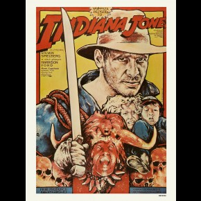 Indiana Jones And The Temple Of Doom Film Print