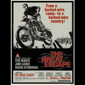 Great Escape Film Print