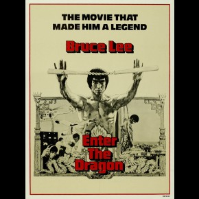 Bruce Lee Enter The Dragon Film Print