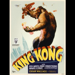 King Kong Film Print