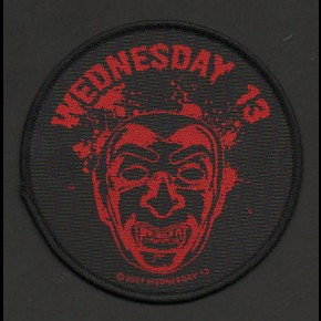 Wednesday 13 (Face) Patch