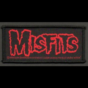 Misfits Logo Patch